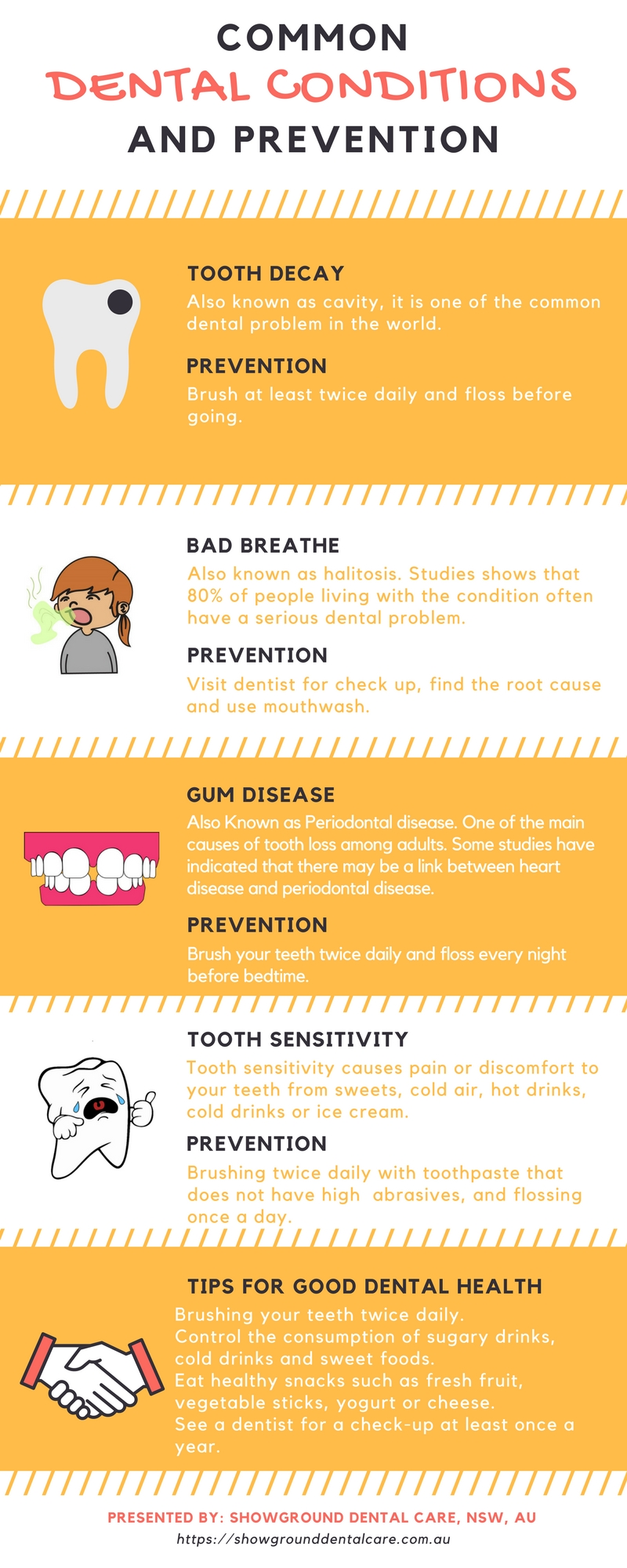 Common Dental Problem and solutions