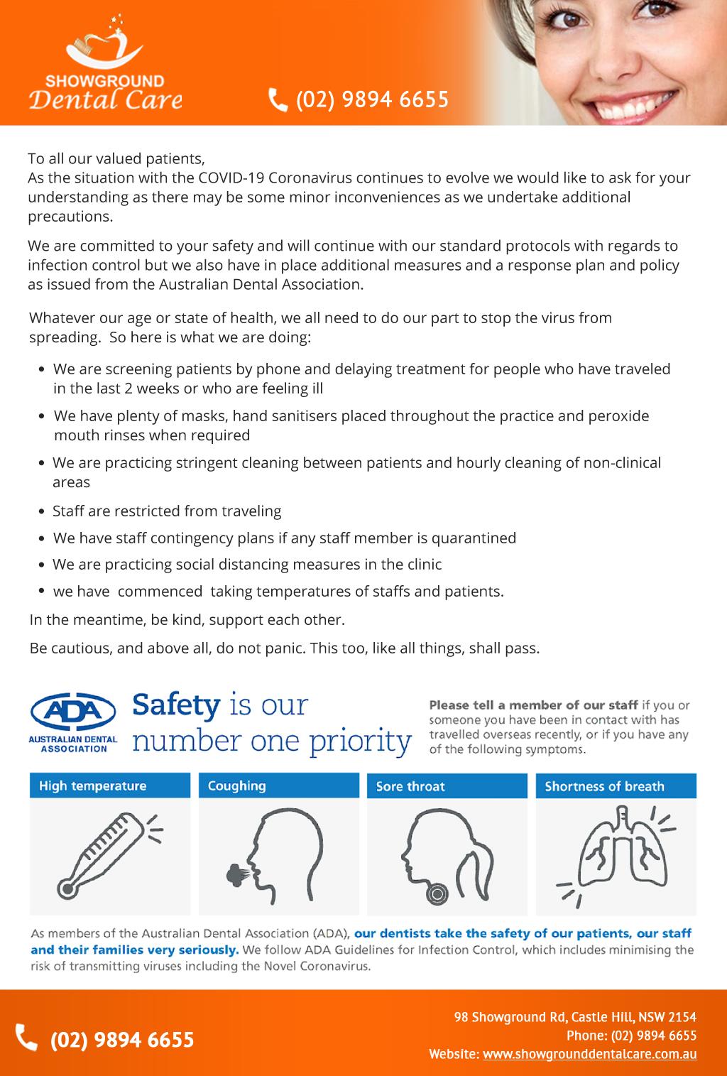covid-safety dental
